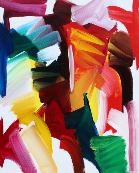 David Harry Spring Study Acrylic on Canvas 46 X 60