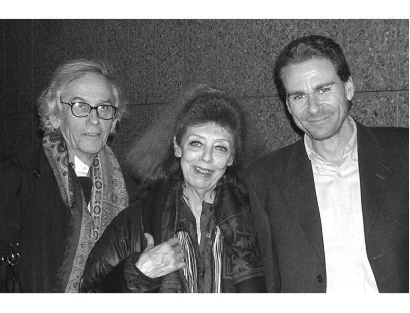 Christo e Jeanne-Claude e Vito Abba