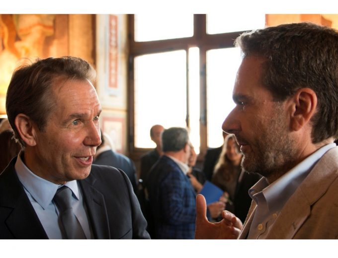 Jeff Koons and Vito Abba