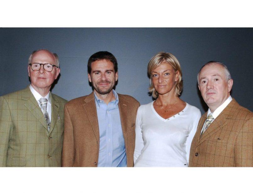 Vito Abba - Lara Cox with Gilbert and George